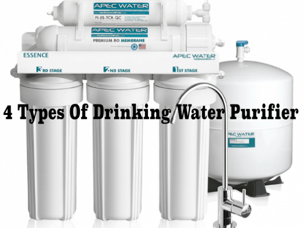 Featured Image 4 types of drinking water purifier