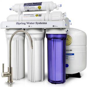 iSpring RCC7 Reverse Osmosis Water Filter System