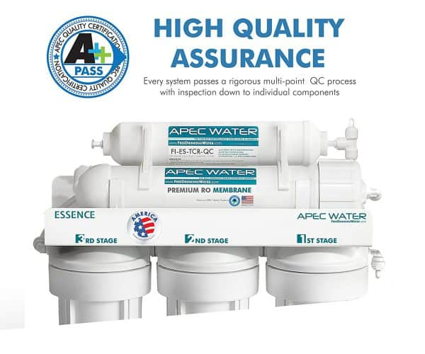 APEC ROES-50 Water Filter Assurance
