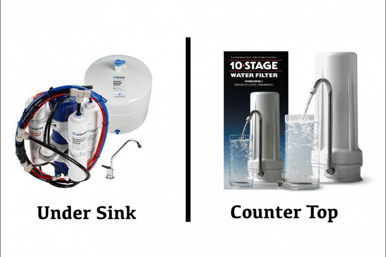 Counter Top VS Under Sink