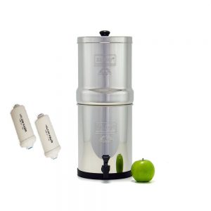 Travel Berkey Water Filter with Fluoride Filter
