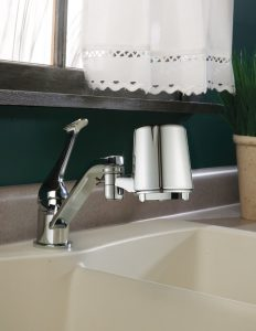 Culligan FM-24 in the faucet