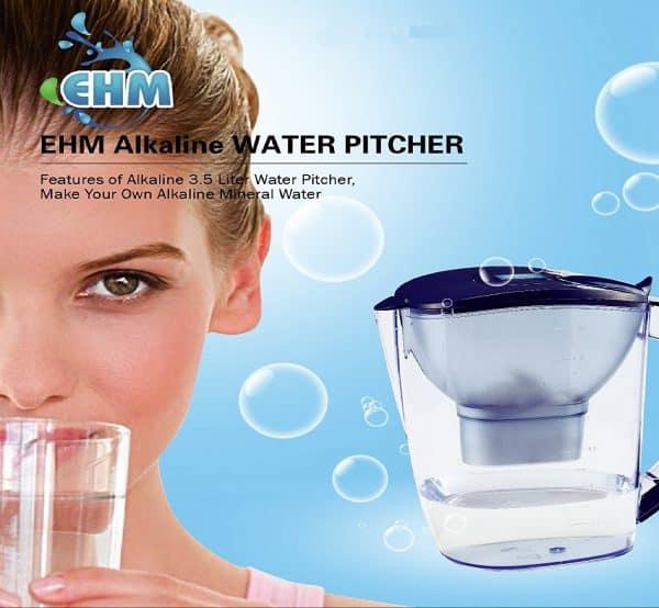 Buy EHM ULTRA Premium Alkaline Water Pitcher