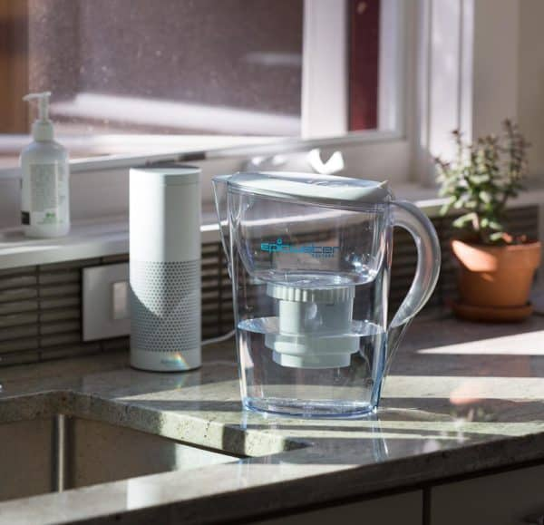 Epic Nano Water Pitcher In Kitchen
